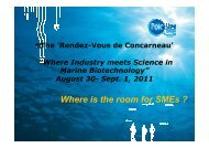Where is the room for SMEs ? - Station de Concarneau