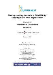 Framework Conditions Denmark