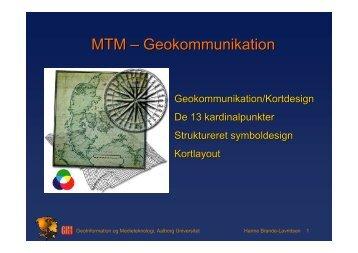 Geokommunikation, design - Aalborg Universitet