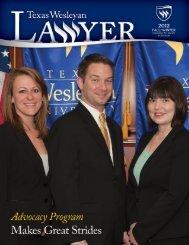 Fort Worth Business Press - Texas Wesleyan School of Law - Texas ...