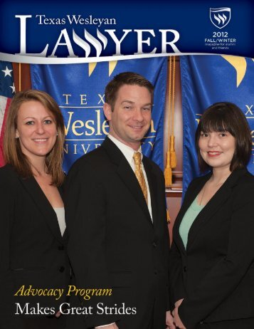 Fort Worth Business Press - Texas Wesleyan School of Law - Texas ...