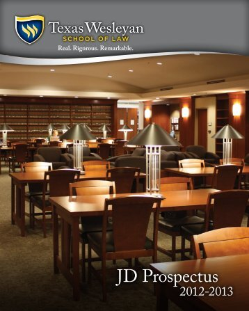 traditional PDF version - Texas Wesleyan School of Law - Texas ...