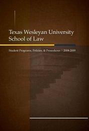 Texas Wesleyan University School of Law