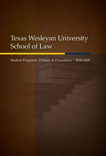 Texas Wesleyan University School of Law