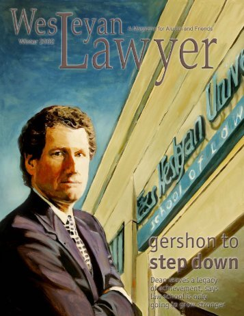 27266-Winter Weslyan Lawyer.pmd - Texas Wesleyan School of ...