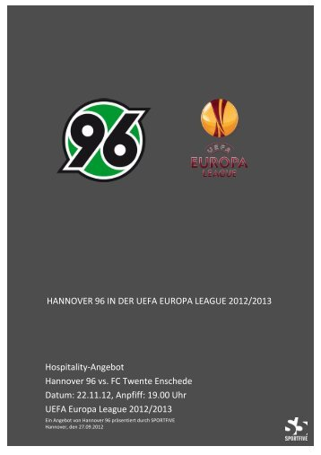 hannover 96 in der uefa europa league 2012