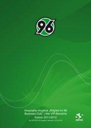 VIP-Bereiche - Hannover 96