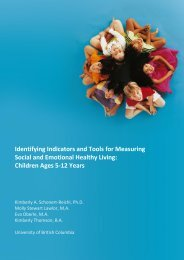Identifying Indicators and Tools for Measuring Social and Emotional ...