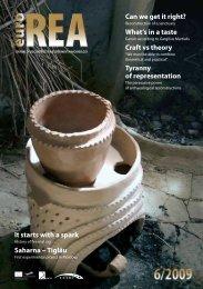 EuroREA 6-2009 final preview - EXARC - Journal