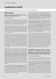 Conference world (PDF) - EXARC - Journal