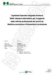 Capitolato Speciale d'Appalto fornitura SIMP ... - Albo Fornitori