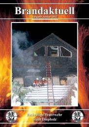 Brandaktuell Brandaktuell - Feuerwehr Stadt Diepholz