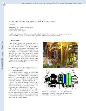 Status and physics prospects of the LHCb experiment
