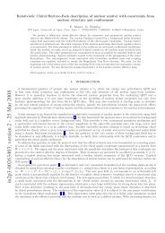 Relativistic Chiral Hartree-Fock description of nuclear matter with ...