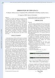 Error study of CERN Linac 4