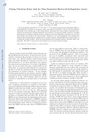 Pairing Vibrations Study with the Time-Dependent Hartree-Fock ...
