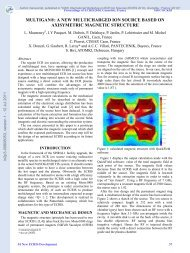 MULTIGAN®: A new multicharged ion source based on axisymetric ...