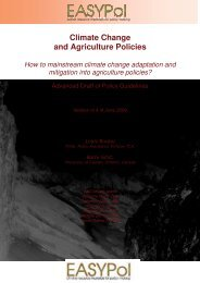 Climate Change and Agriculture Policies - Are you looking for one of ...