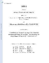 [tel-00151260, v1] Contribution du quark щtrange р la ... - HAL - IN2P3