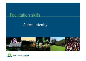 active listening - Are you looking for one of those websites