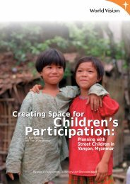 Creating Space for Children's Participation - World Vision Australia