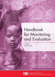 Handbook for Monitoring and Evaluation - Are you looking for one of ...