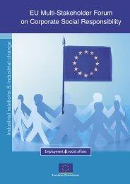 EU Multi-Stakeholder Forum on Corporate Social Responsibility ...