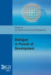 Dialogue in Pursuit of Development - Are you looking for one of ...