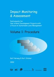 Impact Monitoring & Assessment Volume 1: Procedure