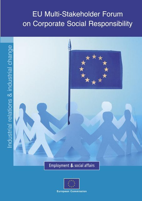 EU Multi-Stakeholder Forum on Corporate Social Responsibility ...