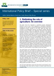 International Policy Brief – Special series - Are you looking for one of ...