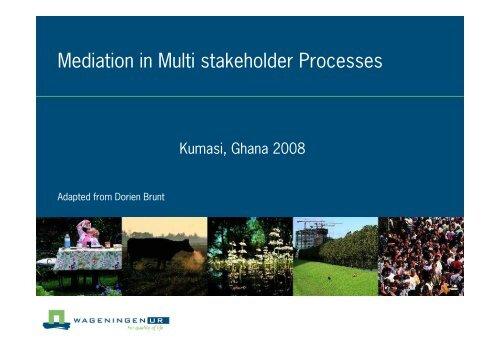 Mediation Ghana 08 - Wageningen UR