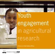 Youth engagement in agricultural research - Are you looking for one ...