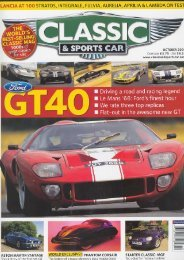CLASSIC & SPORTS CAR - OCT.2006 - Jacques Swaters