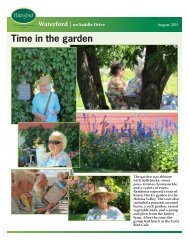 Time in the garden - Touchmark on Saddle Drive