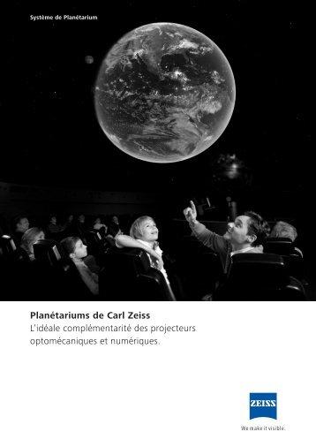 Planétariums de Carl Zeiss - Carl Zeiss Planetariums