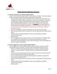Online Volunteer Application Assistance - Skate Canada