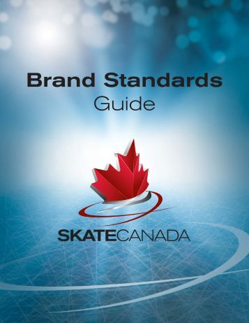 Skate Canada Brand guidelines