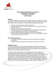 Skate Canada 2014 Olympic Selection Criteria 01 04 13 ms