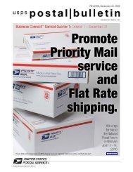 Postal Bulletin 22268 - September 24, 2009