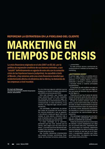 MARKETING EN TIEMPOS DE CRISIS - Acalanthis