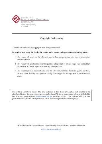 Phd thesis models