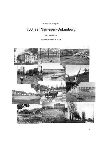 700 jaar Nijmegen-Dukenburg - Regionaal Archief Nijmegen