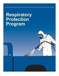 Model Respiratory Protection Program - Polyurethanes - American ...