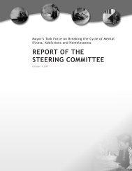 REPORT OF THE STEERING COMMITTEE - Intraspec