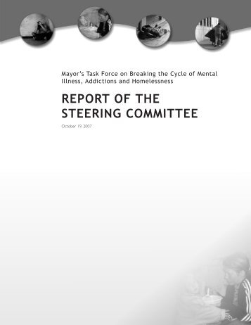 REPORT OF THE STEERING COMMITTEE - Intraspec