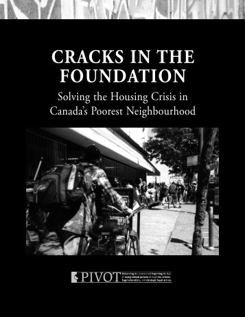 CraCks in the Foundation - Pivot Legal Society