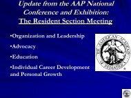 AAP NCE Update 2008