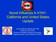 Human Influenza H1N1 & Swine Flu - Pediatrics House Staff