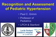 Recognition And Assessment Of Pediatric Hypertension